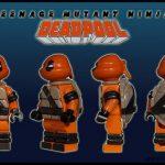 Dragon Brick Deadpool Custom Minifigure