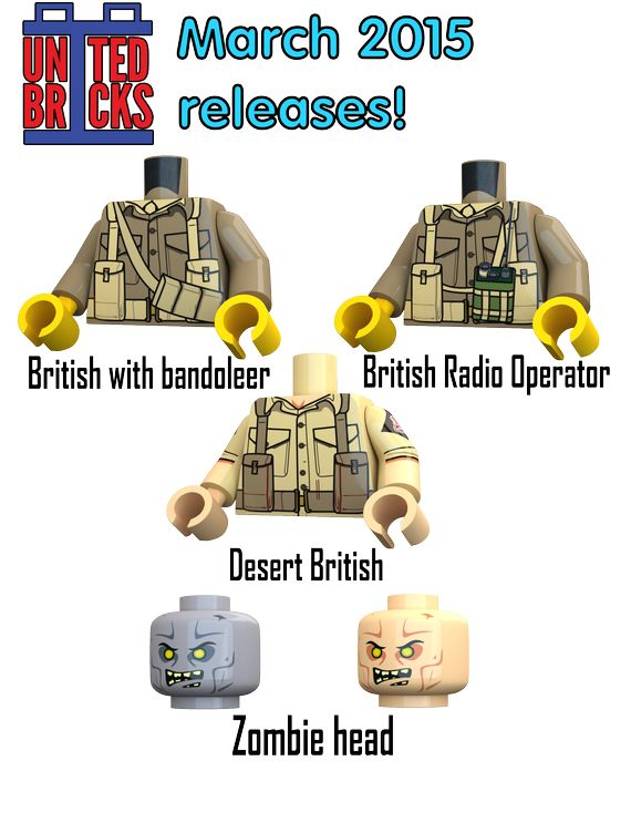 United Bricks March Releases