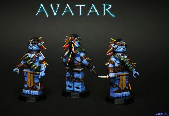Avatar Jake Sully Custom minifigure