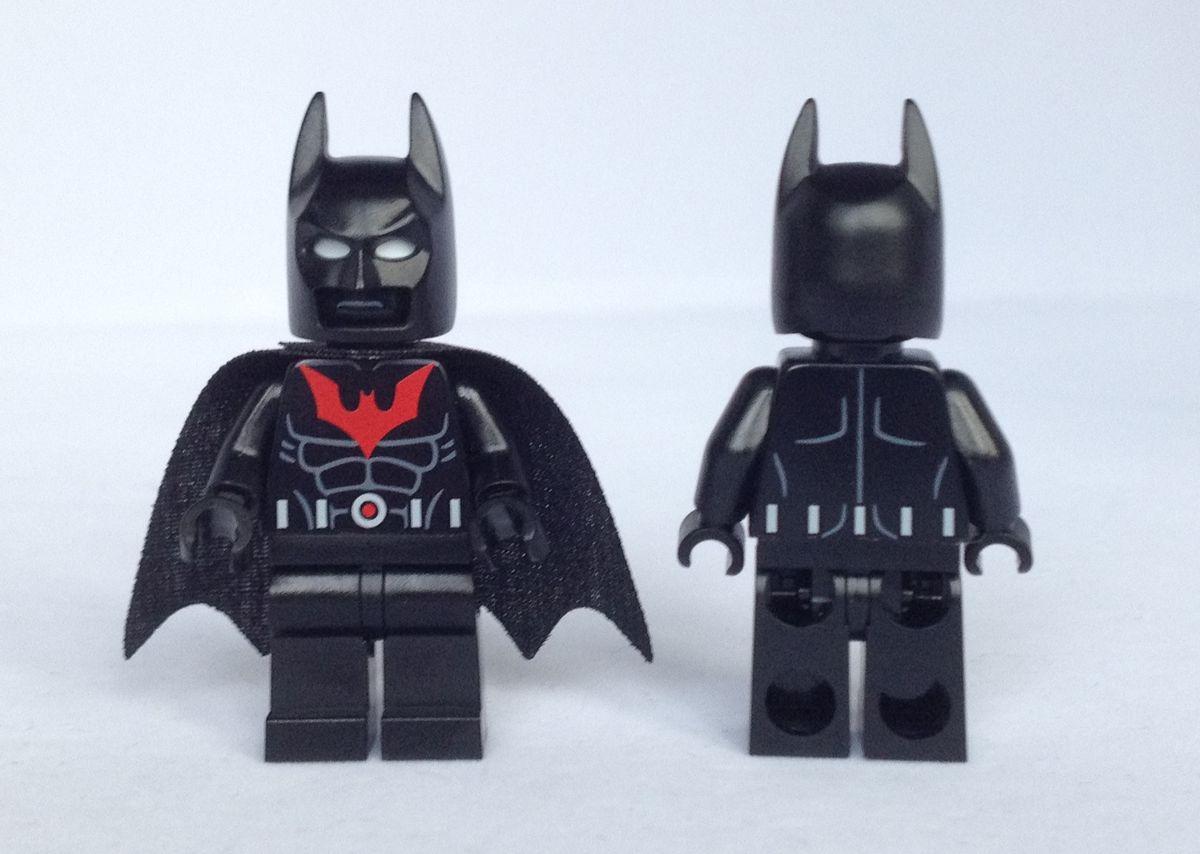 Batman Beyond Christo Custom Minifigures