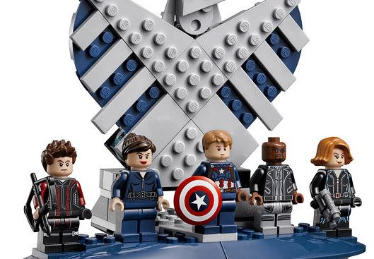LEGO SHIELD Helicarrier Minifigures 76042