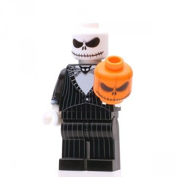 Pumpkin King Custom Minifigure