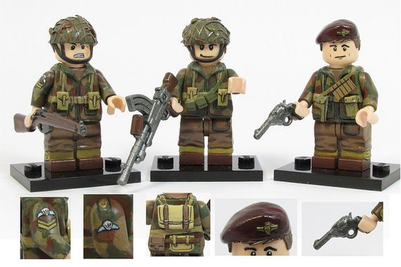 The Paras Custom Minifigures