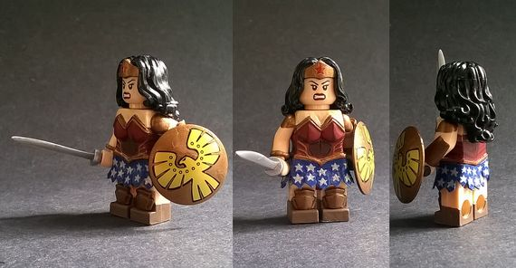 Wonder Woman Custom Minifigure