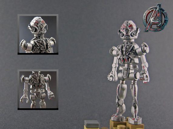 Age of Ultron: Ultron Prime Custom Minifigure