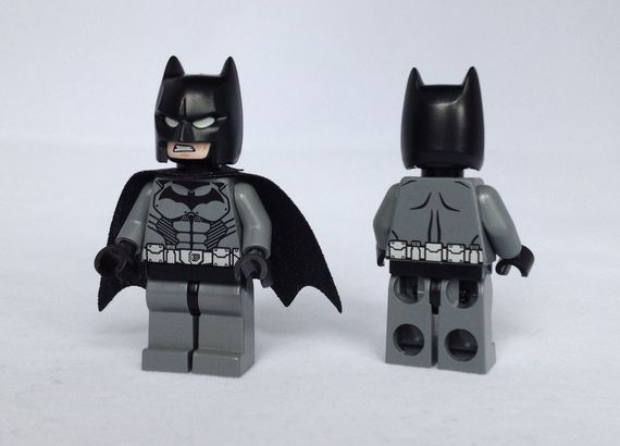 Arkham Origins Batman Custom Minifigures