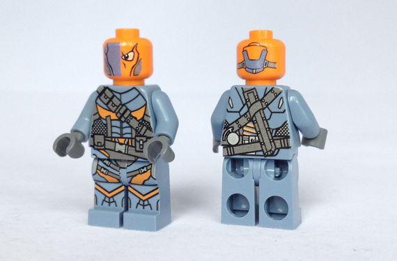 Arkham Origins Deathstroke Custom Minifigures