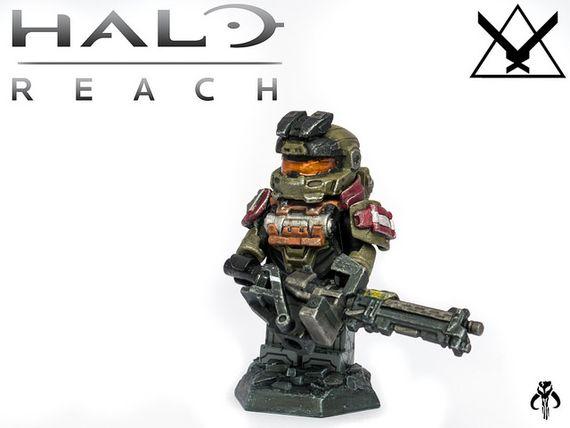 Halo Reach Jorge Custom Minifigure