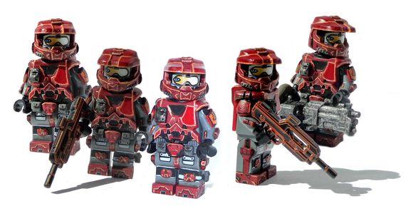 The Red Fox Custom Minifigure