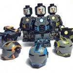 Funny Brick Classic Iron Man Custom Minifigure