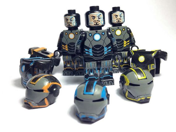 Grid Iron eclipseGrafx Custom Minifigures