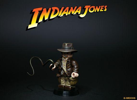 Indiana Jones Custom Minifigure