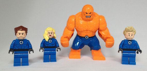 Fantastic 4 Minifigures
