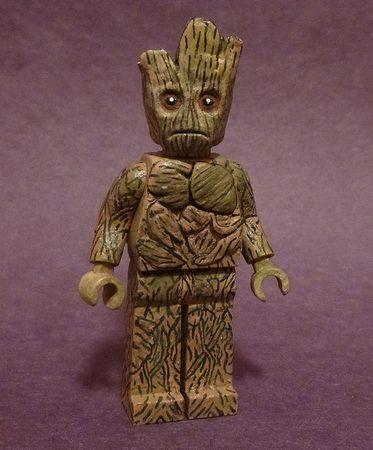 Guardians of The Galaxy Groot Custom Minifigure