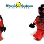 Diamond Custom Bricks Crimson Witch Custom Minifigure
