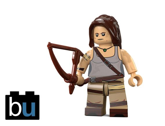 LaraCroft BrickUltra Render