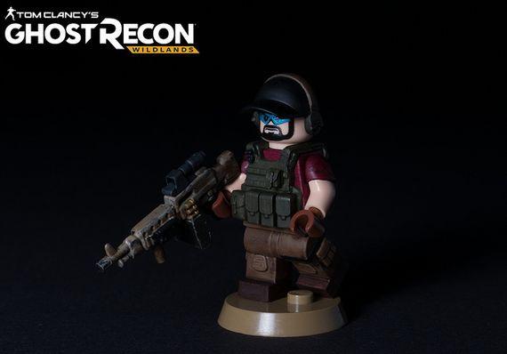 Ghost Recon Wildlands Custom Minifigure