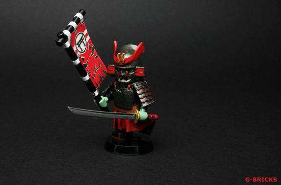 Samurai Demon Custom Minifigure