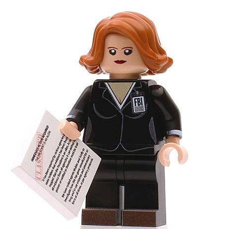 Agent Mully Custom Minifigure