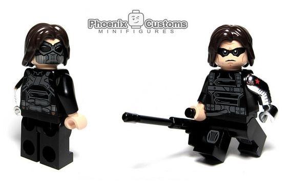 Cold War Assassin Custom Minifigure - Phoenix Customs