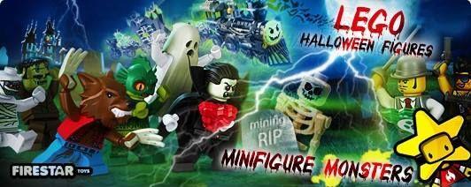 LEGO Halloween Minifigures