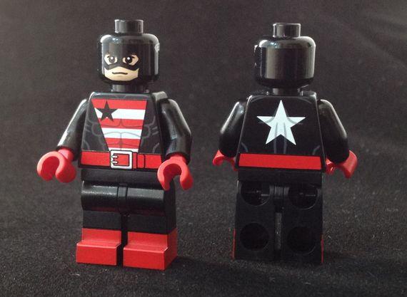 U.S Agent Christo Custom Minifigure