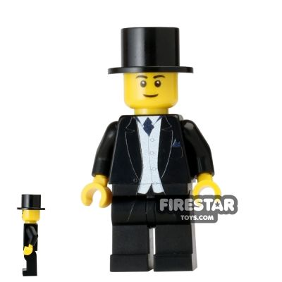 Wedding Groom Custom Minifigure
