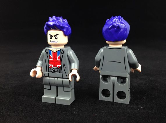 Manchester Black Christo Custom Minifigure