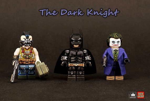 The Dark Knight Custom Minifigures