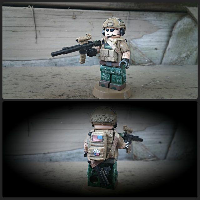 NSW Team 4 Custom Minifigure
