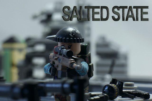 Salted State Rooftop Overwatch Custom Minifigure