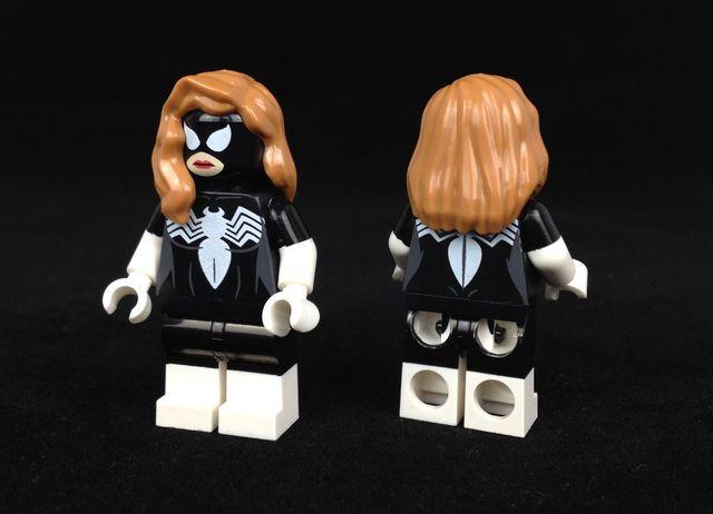 Arachno Girl Custom Minifigure