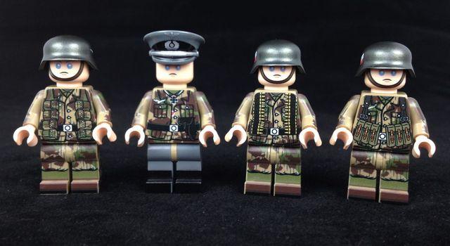 MinifigsRus Fallschirmjager Soldiers