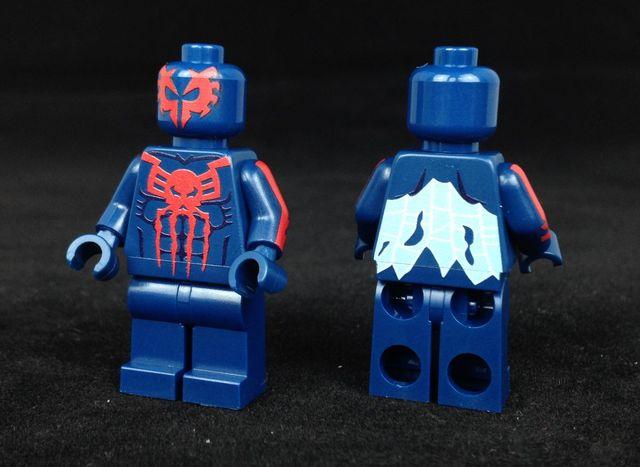 Spider-Man 2099 Onlinesailin Custom Minifigure