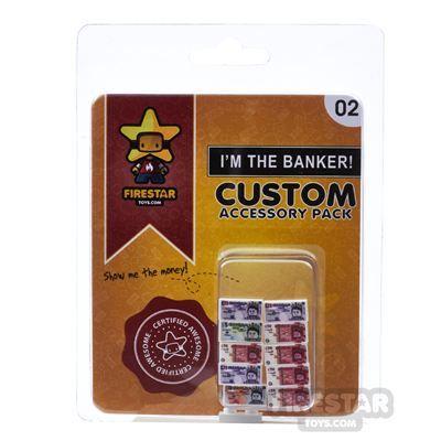 Firestar Toys British Pound Notes Pack