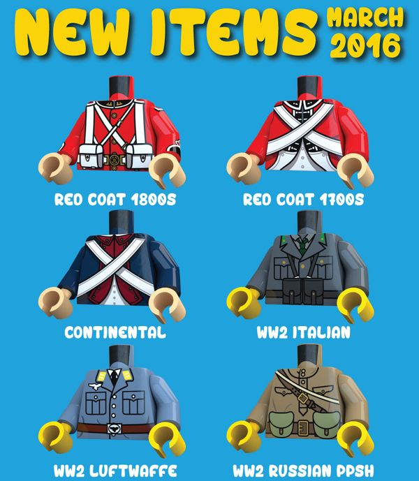 United Bricks March 2016 Releases