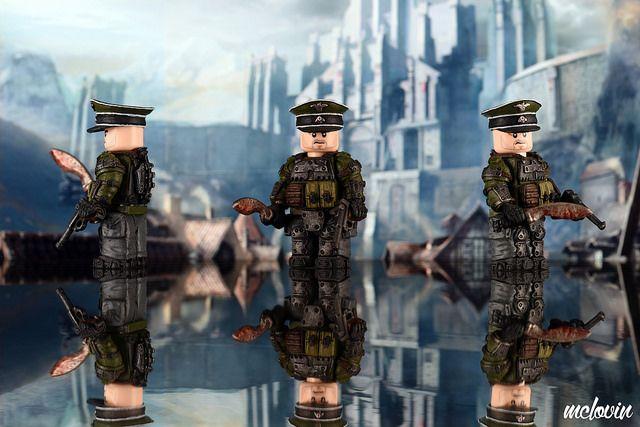 Weird War German Captain Custom Minifigure