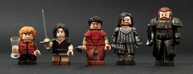 Game Of Thrones Custom Minifigures
