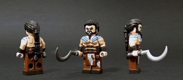 Khal Drogo Custom Minifigure