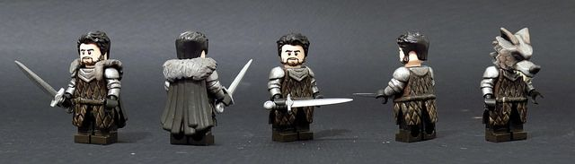 Robb The King Of The North Custom Minifigure