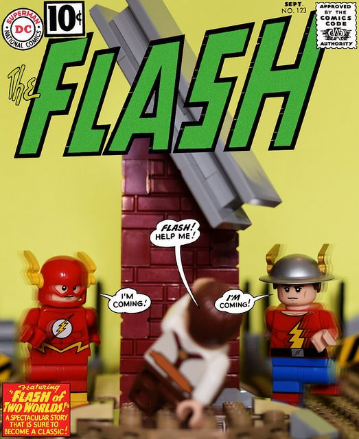 The Flash No.123 Flash of Two Worlds
