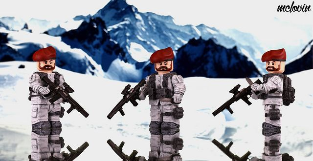 Weird War SAS Commando Custom Minifigure