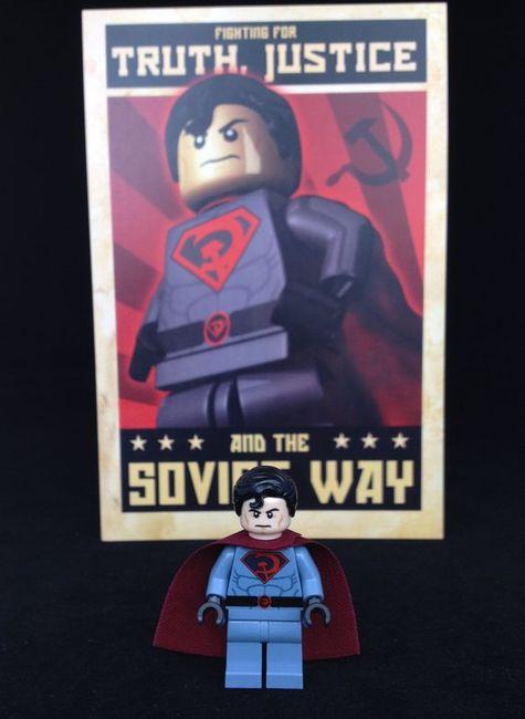 Comrade Superguy Collectors Post Card
