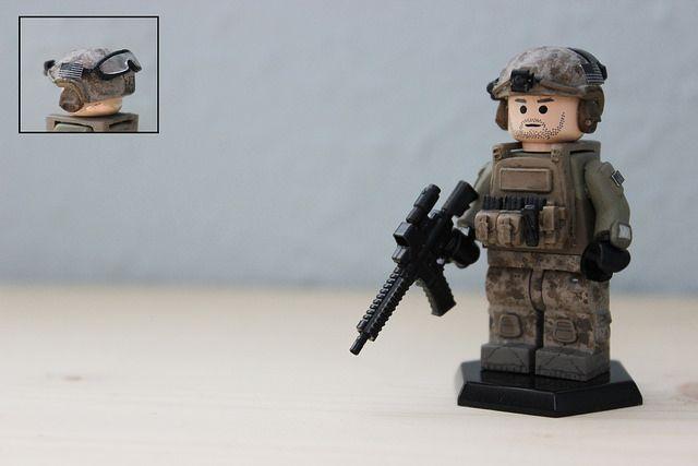 Devgru Military Custom Minifigure