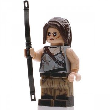 Mini Figures Lara Croft Custom Minifigure
