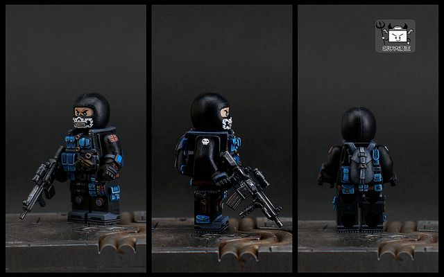 Future Soldier Ghost Custom Minifigure