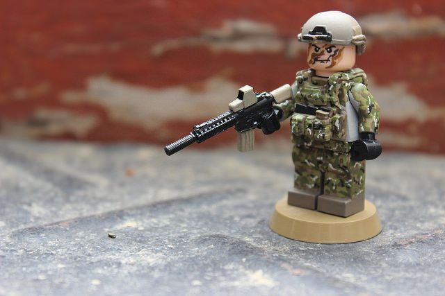 US Green Berets Custom Minifigure