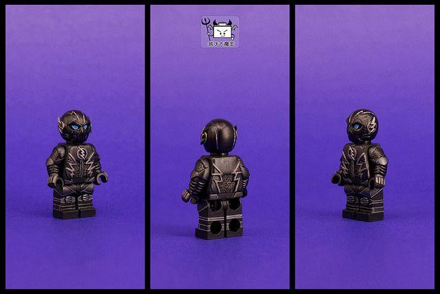 Black Flash Zoom Custom Minifigure