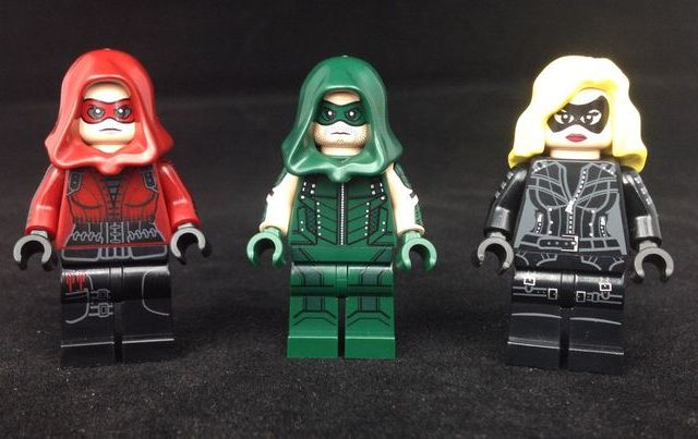 The Vigilante Trio Custom Minifigures