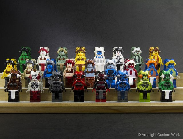 Twi'lek Custom Minifigure Packs